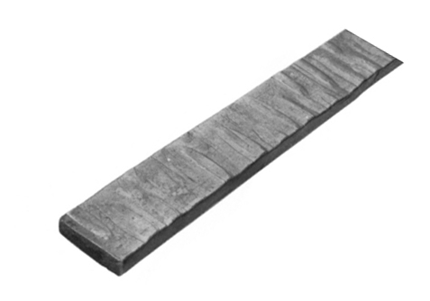 Ba118 29 Flat Hammered Bar Everett Steel
