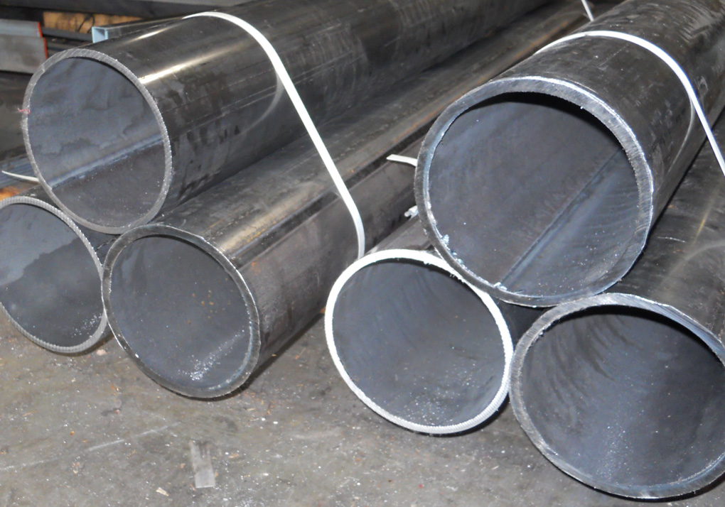 "5"" PIPE:  BLACK, GALVANIZED, PLAIN END, T&C"
