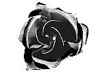 "FL-10087 Stamped Steel Rose 1-3/8"" diameter"