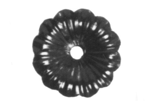 "FL116-A-3  Heavy Gauge Flower 3-3/4"" Diameter"