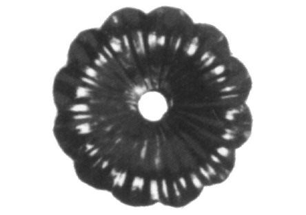 FL116-A4 Heavy Gauge Flower 2-5/16""