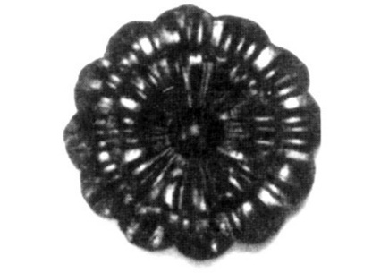 FL116-A-5 Heavy Gauge Flower 3-3/4""