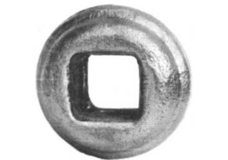 "BU128-2 Hot Stamped Bushing 9/16"" Sq Insert"