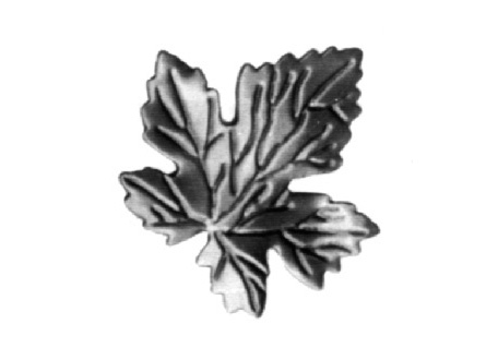 "LV138-11 Grape Leaf 2-3/4""H"