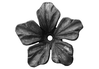 FL695-1 Forged Flower 3-1/8""