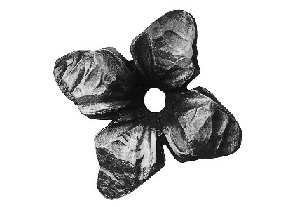 FL695-4 Forged Flower 2-3/8""