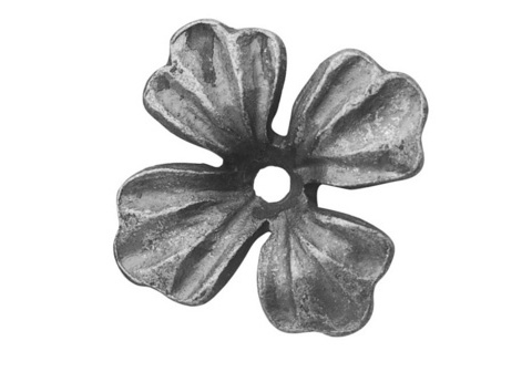 FL695-5 Forged Flower 2-3/8""