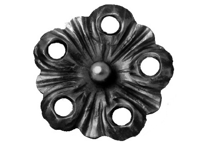 FL94-B-5 Heavy Gauge Flower 4-5/32""