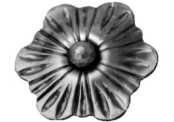 FL94-B-6 Heavy Gauge Flower 4-17/32""