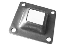 "SH-41 Raised Base Plate 1""Hole"
