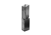 HIBH-L7SQ Square Gate Hinge Pair 7""