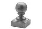 "CPCI-121 Post Cap Ball Top 2-1/2"" Base"